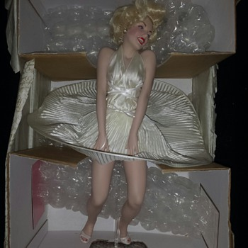 Marilyn Monroe by The Franklin Mint
