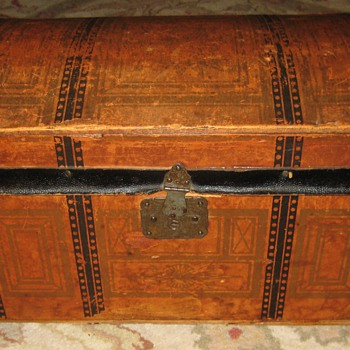 Antique Toy Trunk - Furniture