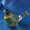 my first glass bird figurine I'm in love with