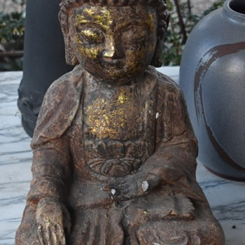 Very Old Buddha Statue - Asian
