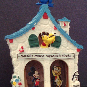 MICKEY MOUSE WEATHER HOUSE 1950s - Animals