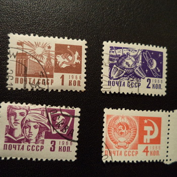 more Russian Stamps - Assorted