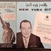New York City Map - February 1961