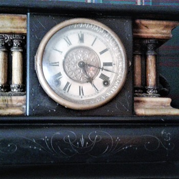 Very Old Mantle Clock