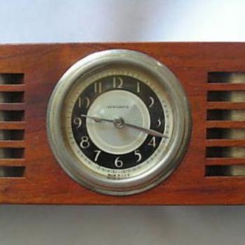 "New Haven ""Geometric Series"" Shelf Clock - Clocks"