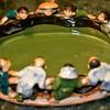 Sumida Gawa - Kids Gazing into a Pond