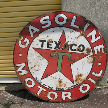 Large Texaco Sign - Signs
