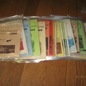 Vintage Mustang Magazines and Literature