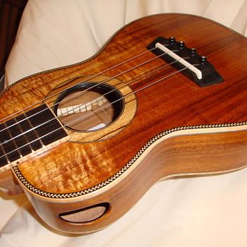 Koa Wixom Concert Slotted Headstock... - Guitars