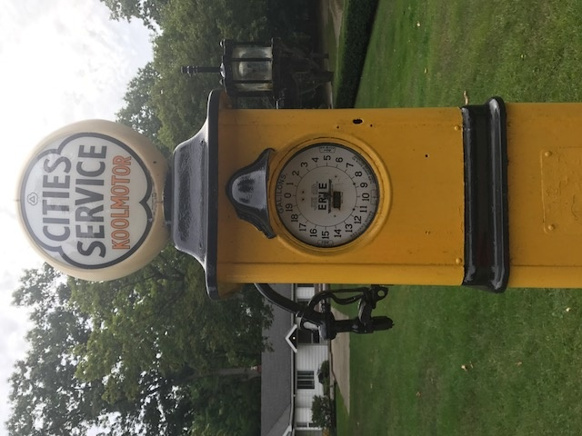 Erie Clock Face Gas Pump | Collectors Weekly