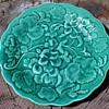 Dick Knox California Pottery Plate - majolica