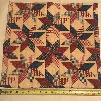 Need help with American patch work  - Folk Art