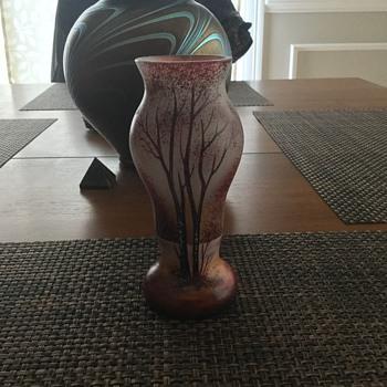 Daum Vase? - Art Glass