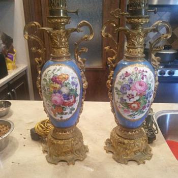 Sevres type lamp pair samson? - Lamps
