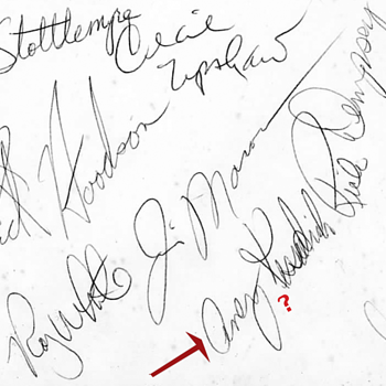 1974 Yankee Autographs - Baseball
