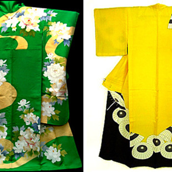 Vintage Japanese Kimonos & Haoris - Womens Clothing