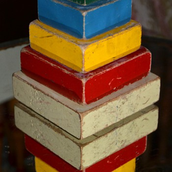 Stacking Children's Toy - Toys