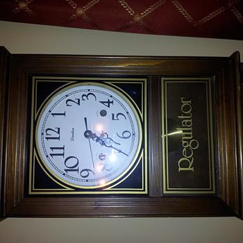 Linden Regulator Korea Wall Clock - Clocks