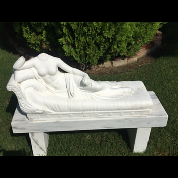 Pauline Bonaparte Marble Sculpture - Fine Art