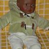 Black baby boy by Mariquita Perez