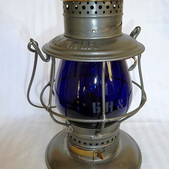 Grand Rapids & Indiana Railroad Lantern - Railroadiana