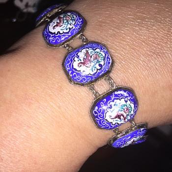 Pretty bird bracelet - Costume Jewelry