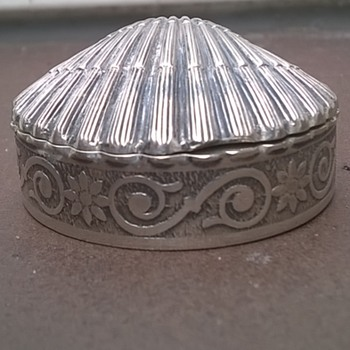 Sterling Keepsake Box, Thrift Shop Find - Silver