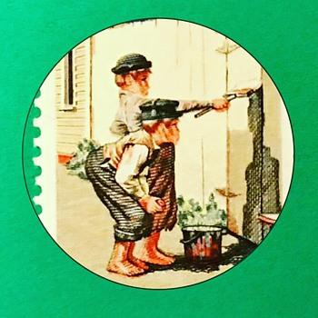 Tom Sawyer Error Stamp - Stamps