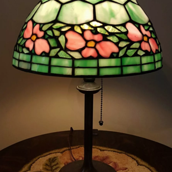 Unique Art Glass Co. lamp and shade - Lamps