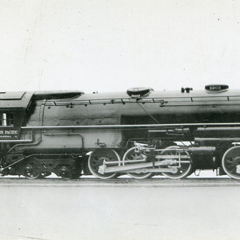 The Union Pacific's Challenger Locomotives…#3902, and 3937 - Railroadiana