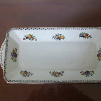 Bread plate - China and Dinnerware