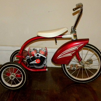 1964 Murray tricycle with toy Motor