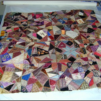 Old Hand Made Quilt Top