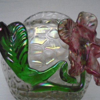 Art Nouveau Kralik Martelé Irridescent Bowl - Art Glass