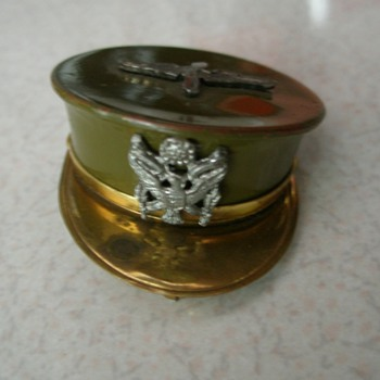 WW2 Army Headgear Sweetheart Locket - Military and Wartime