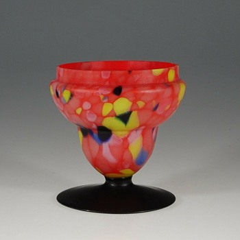 Those Challenging Czech Glass Lidded Jars, Another Unsolved Quandary. - Art Glass