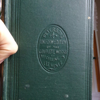 Edition 1 from 1852?