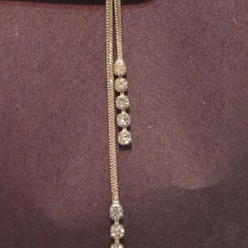 Fake Diamonds & a Diamond Testing Thread - Costume Jewelry