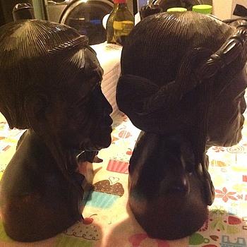 Possible Igorot busts? - Fine Art