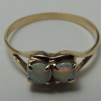 Child's Ring - 14K & OPAL - Fine Jewelry