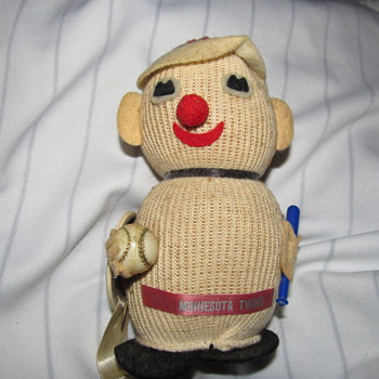 Stuart's Creations 1965? MN Twins Knit Doll