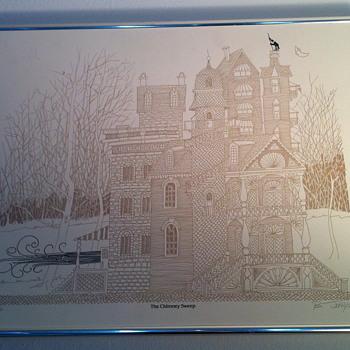 The Chimney Sweep art print.