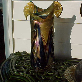 Unknown Vase - Art Glass