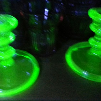My Green Glows II - Glassware