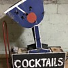 Vintage Cocktail sign.
