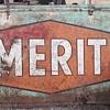 Metal Merit Sign
