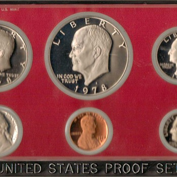 1978 S - U.S. Proof Coins Set - US Coins