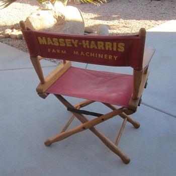 Massey Harris Directors Chair - Furniture