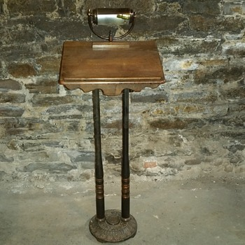 Antique Lectern Pulpit Podium  - Furniture