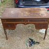 1800's Walnut & Gum Desk